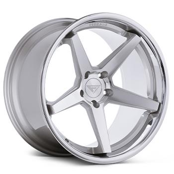 FR3 Machine Silver Wheel