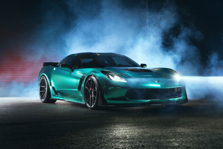 2016 Chevy Corvette Z06 Teal – FR8