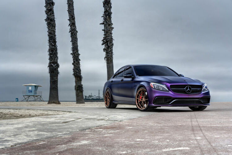 2017 Mercedes C63 Purple – FR8