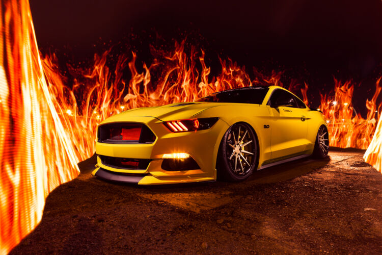 2015 Ford Mustang Fire – FR4