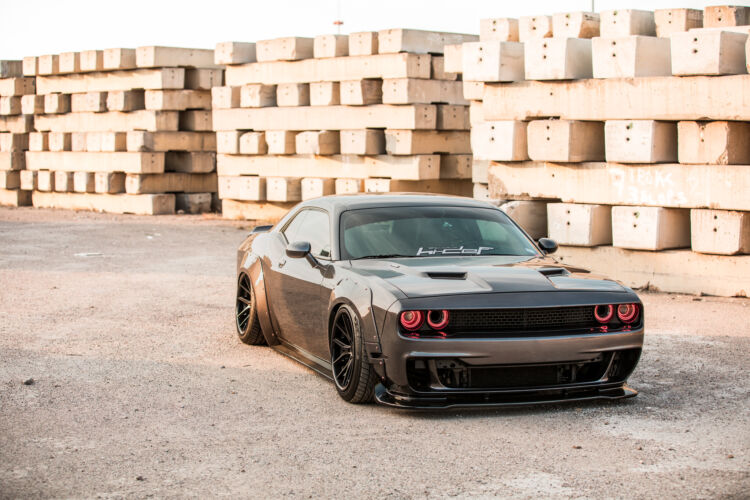 2017 Dodge Challenger Prior Design Widebody – FR2