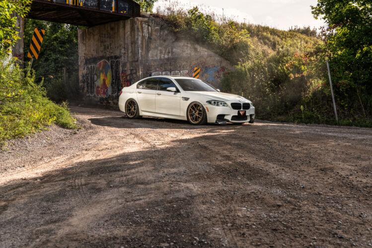 2014 BMW M5 – FR8 Matte Bronze