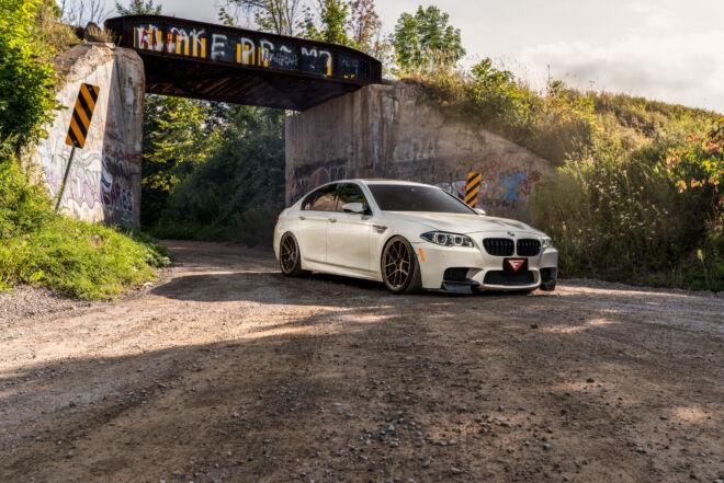 Drifiting BMW M5 in Canada, DRIFT THE M5 EH   2014 BMW M5, Ferrada Wheels, Ferrada Wheels