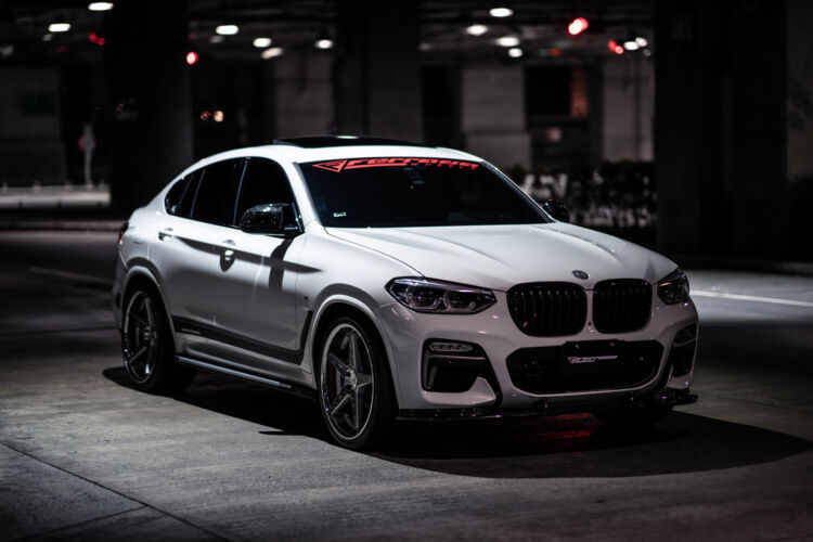 2016 BMW X4 – FR3 Machine Silver