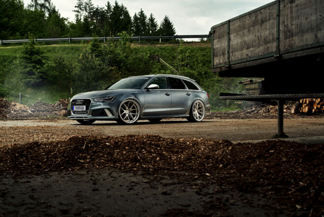 This Audi RS6 disturbs the Austria Back Country, AUSTRIA BACK COUNTRY | AUDI RS6, Ferrada Wheels, Ferrada Wheels