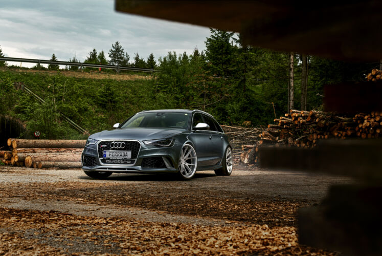 2014 Audi RS6 – FR2 Machine Silver