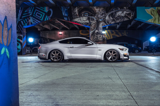 Ford Mustang Beautifully Bagged in Toronto!, BAGGED IN THE CITY | FORD MUSTANG, Ferrada Wheels