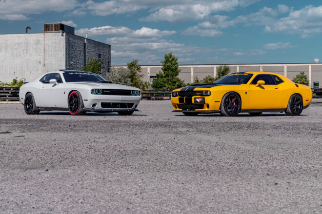 Canada's Muscle Cars came out to play., CANADA'S MUSCLE | CHALLENGER DUO, Ferrada Wheels