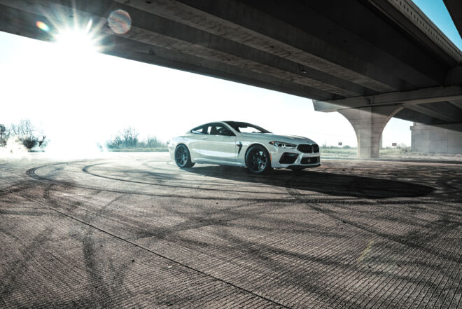Bring the Smoke with BMW M8 Drifting the Streets, BRING THE SMOKE | BMW M8, Ferrada Wheels