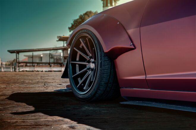 Widebody Chevy Camaro Ferrada Wheels FR4, MOST AGGRESSIVE CAMARO, Ferrada Wheels