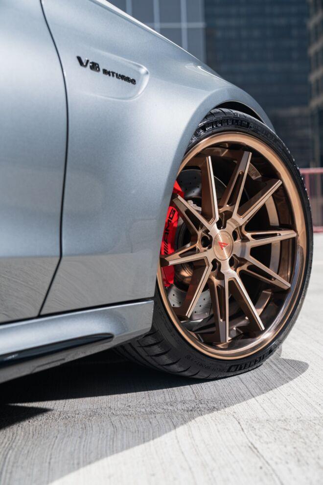 Mercedes C63s AMG on Ferrada Wheels CM2 Concave Madness, MERCEDES CONCAVE MADNESS   FERRADA CM2, Ferrada Wheels