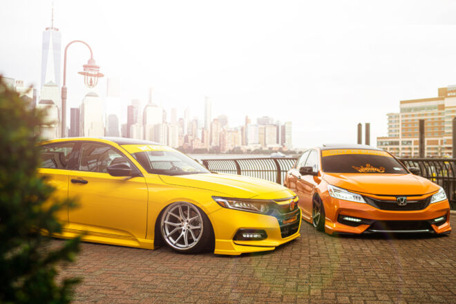 Two Honda Accord take over NYC on Ferrada Wheels FR2 & FR3, ACCORDS TAKE OVER NYC | FERRADA FR2 FR3, Ferrada Wheels