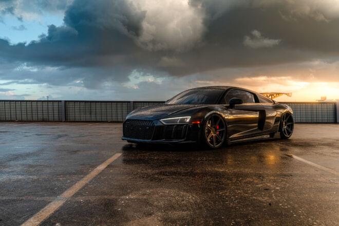 Audi R8 V10 Ferrada Wheels FR7 Catch the Darkness, CATCH THE DARKNESS | AUDI R8 TWIN TURBO, Ferrada Wheels