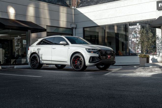 Audi Q8 S-Line on Ferrada Wheels CM2 in Houston, SIMPLE BEAUTY | AUDI Q8 S-LINE, Ferrada Wheels